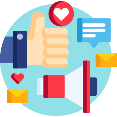 Community Management Icone